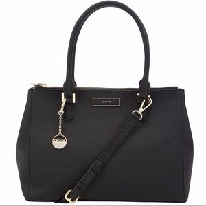 DKNY • Large Saffiano Leather Work Shopper Tote